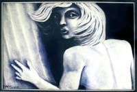 Tartarus  Oil and Enamel on Canvas 24X36 1997